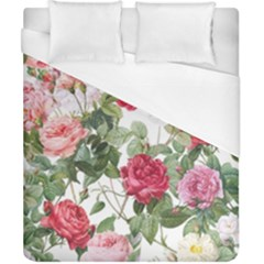 Elegant Vintage Flowers Pattern  Duvet Cover (california King Size) by tarastyle
