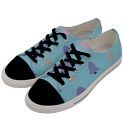 Christmas Bauble Men s Low Top Canvas Sneakers by HermanTelo