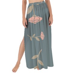 Florets Rose Flower Maxi Chiffon Tie Up Sarong