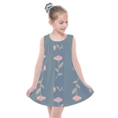 Florets Rose Flower Kids  Summer Dress