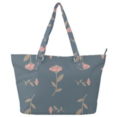 Florets Rose Flower Full Print Shoulder Bag