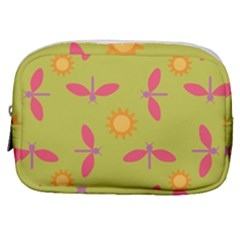 Dragonfly Sun Flower Seamlessly Make Up Pouch (small)