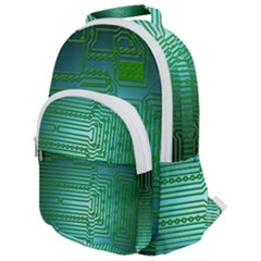 Board Conductors Circuits Rounded Multi Pocket Backpack