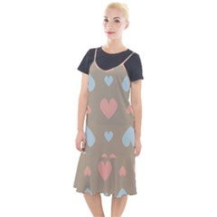 Hearts Heart Love Romantic Brown Camis Fishtail Dress