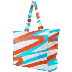 Abstract Colors Print Design Simple Shoulder Bag by dflcprintsclothing