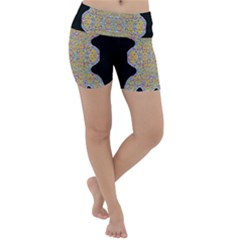Pearls As Candy Lightweight Velour Yoga Shorts by pepitasart