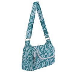 Decorative Blue Floral Pattern Multipack Bag