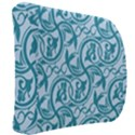Decorative Blue Floral Pattern Back Support Cushion View2