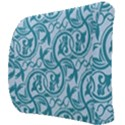 Decorative Blue Floral Pattern Back Support Cushion View3