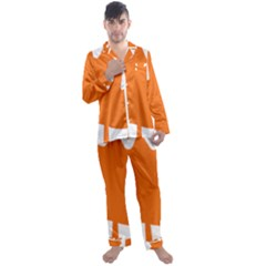 Logo Of New Democratic Party Of Canada Men s Satin Pajamas Long Pants Set