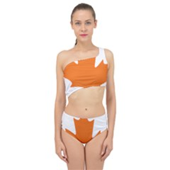 Logo Of New Democratic Party Of Canada Spliced Up Two Piece Swimsuit by abbeyz71