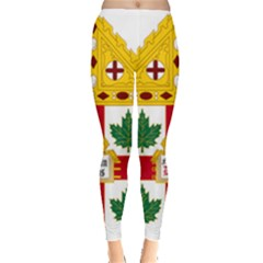 Coat Of Arms Of Anglican Church Of Canada Leggings  by abbeyz71