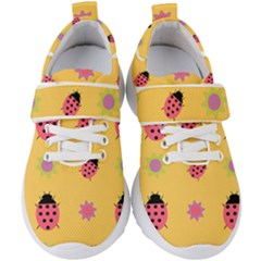 Ledy Bird Kids  Velcro Strap Shoes by HermanTelo