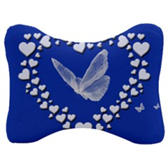 Heart Love Butterfly Mother S Day Velour Seat Head Rest Cushion