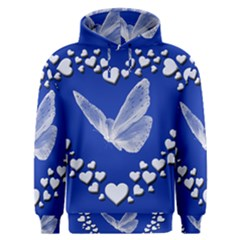 Heart Love Butterfly Mother S Day Men s Overhead Hoodie