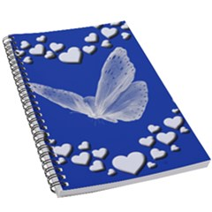 Heart Love Butterfly Mother S Day 5 5  X 8 5  Notebook by HermanTelo