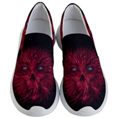 Monster Red Eyes Aggressive Fangs Ghost Women s Lightweight Slip Ons by HermanTelo