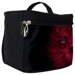 Monster Red Eyes Aggressive Fangs Ghost Make Up Travel Bag (big) by HermanTelo