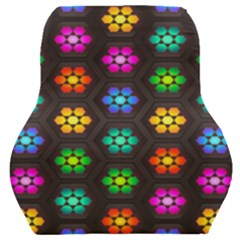 Pattern Background Colorful Design Car Seat Back Cushion