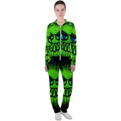Monster Green Evil Common Casual Jacket And Pants Set by HermanTelo