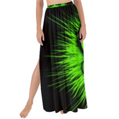 Monster Green Evil Common Maxi Chiffon Tie Up Sarong by HermanTelo