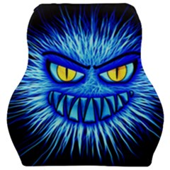 Monster Blue Attack Car Seat Velour Cushion