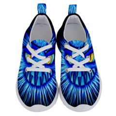 Monster Blue Attack Running Shoes by HermanTelo