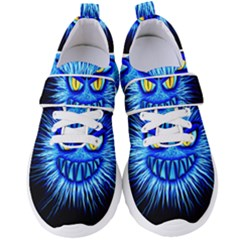 Monster Blue Attack Women s Velcro Strap Shoes by HermanTelo