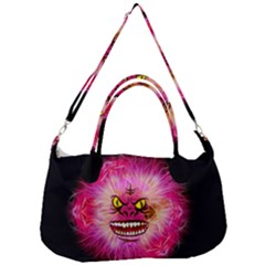 Monster Pink Eyes Aggressive Fangs Removal Strap Handbag