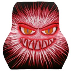 Monster Red Eyes Aggressive Fangs Car Seat Back Cushion