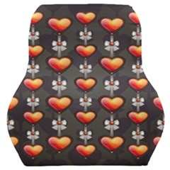 Love Heart Background Valentine Car Seat Back Cushion