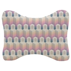 Seamless Pattern Background Entrance Velour Seat Head Rest Cushion