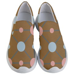 Planets Planet Around Rounds Women s Lightweight Slip Ons