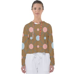 Planets Planet Around Rounds Women s Slouchy Sweat
