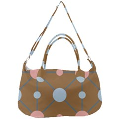 Planets Planet Around Rounds Removal Strap Handbag
