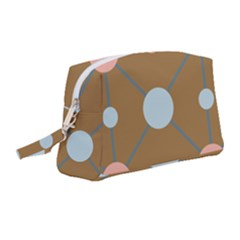 Planets Planet Around Rounds Wristlet Pouch Bag (medium)