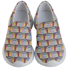 Seamless Pattern Background Abstract Kids  Lightweight Slip Ons by HermanTelo