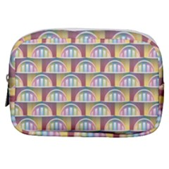 Seamless Pattern Background Abstract Make Up Pouch (small) by HermanTelo