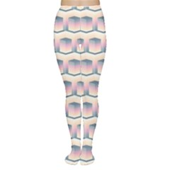 Seamless Pattern Background Cube Tights