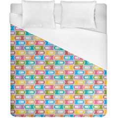 Seamless Pattern Background Abstract Rainbow Duvet Cover (california King Size) by HermanTelo