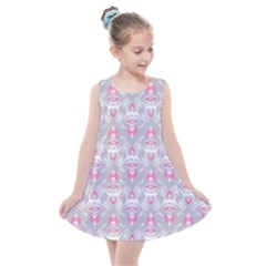 Seamless Pattern Background Kids  Summer Dress by HermanTelo
