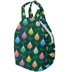 Tulips Seamless Pattern Background Travel Backpacks by HermanTelo