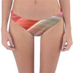 Wave Background Pattern Abstract Reversible Hipster Bikini Bottoms