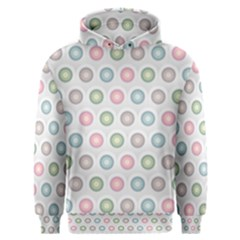 Seamless Pattern Pastels Background Pink Men s Overhead Hoodie