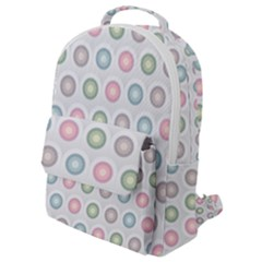 Seamless Pattern Pastels Background Pink Flap Pocket Backpack (small) by HermanTelo