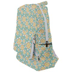 Seamless Pattern Floral Pastels Travelers  Backpack