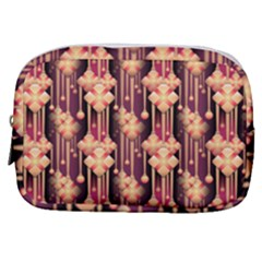 Seamless Pattern Plaid Make Up Pouch (small)