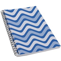 Waves Wavy Lines 5 5  X 8 5  Notebook
