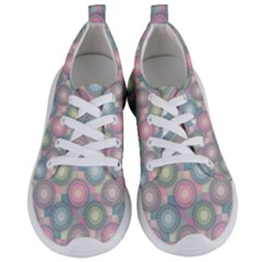 Seamless Pattern Pastels Background Women s Lightweight Sports Shoes