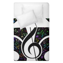 Butterfly Music Animal Audio Bass Duvet Cover Double Side (single Size) by HermanTelo